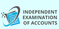 Choice Bookkeeping block Independent examination of accounts (1)